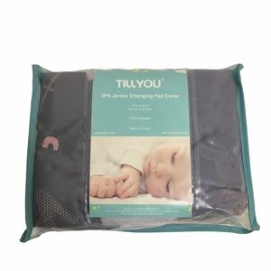 TillYou 3pk jersey knit changing pad covers. New